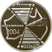 5 Dollars (Adelaide to Darwin Railway) – revers
