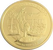 """100 Dollars - Elizabeth II """"Kangaroo"""" Gold Bullion Coinage -  revers"""