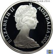 5 Cent - Elizabeth II (2nd portrait) Silver Proof -  avers