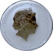 2 Dollars - Elizabeth II (Year of the Dog – avers