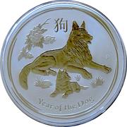 2 Dollars - Elizabeth II (Year of the Dog – revers