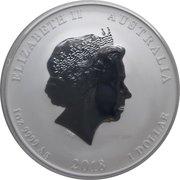 1 Dollar - Elizabeth II (Année du chien) -  avers