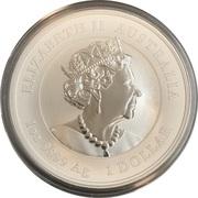 1 Dollar - Elizabeth II (Year of the Mouse) -  avers