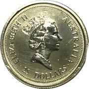 25 Dollars - Elizabeth II -  avers