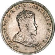 1 florin Edouard VII – avers