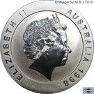10 Dollars - Elizabeth II 4ème portrait (Melbourne) – avers