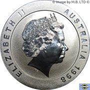 10 Dollars - Elizabeth II 4ème portrait (Melbourne) -  avers