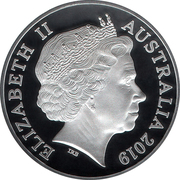 1 Dollar - Elizabeth II (Moon Landing ) -  avers