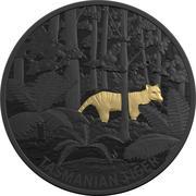 5 Dollars - Elizabeth II (4th Portrait - Tasmanian Tiger) -  revers