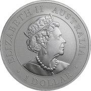 1 Dollar - Elizabeth II (Super Pit) -  avers