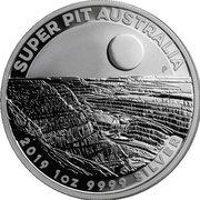 1 Dollar - Elizabeth II (Super Pit) -  revers