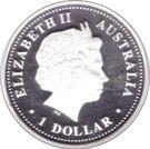 1 Dollar - Elizabeth II (Discover Australia - Brisbane) – avers