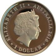1 Dollar - Elizabeth II (4th Effigy - Sydney Cove Medallion) -  avers