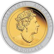 150 Dollars - Elizabeth II (Australian Wedge-Tailed Eagle) -  avers