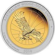 150 Dollars - Elizabeth II (Australian Wedge-Tailed Eagle) -  revers