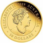 50 Dollars - Elizabeth II (Australia Double Sovereign) -  avers