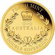50 Dollars - Elizabeth II (Australia Double Sovereign) -  revers