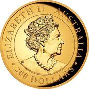 200 Dollars - Elizabeth II (Australian Wedge-Tailed Eagle) -  avers