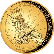 200 Dollars - Elizabeth II (Australian Wedge-Tailed Eagle) -  revers