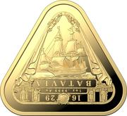 100 Dollars - Elizabeth II (6th Portrait - Batavia) -  revers