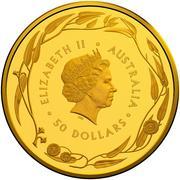 50 Dollars - Elizabeth II (Gold Bullion Coin) -  avers