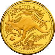 50 Dollars - Elizabeth II (Gold Bullion Coin) -  revers