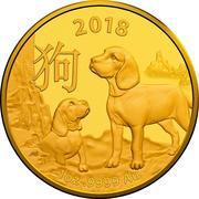 100 Dollars - Elizabeth II (4th Portrait - Year of the Dog) -  revers