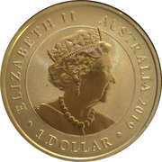 1 Dollar - Elizabeth II (6th Portrait - G-EAOU) -  avers