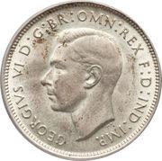 1 Florin - George VI -  avers