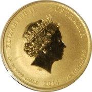 25 Dollars - Elizabeth II (Year of the Horse - series II) -  avers