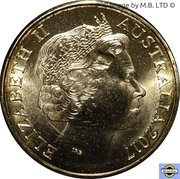 1 Dollar - Elizabeth II (Possum Magic - Grandma Poss) -  avers