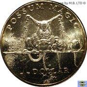 1 Dollar - Elizabeth II (Possum Magic - Grandma Poss) -  revers