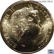 1 Dollar - Elizabeth II (Possum Magic - Racing Across Australia) -  avers
