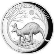 1 Dollar - Elizabeth II (6th Portrait - Australian Kangaroo) -  revers