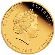 25 Dollars - Elizabeth II (4th Portrait - Bugs Bunny) -  avers