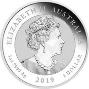 1 Dollar - Elizabeth II (6th Portrait - Graduation) -  avers