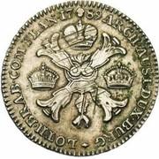 ½ couronne Joseph II (Type I) – revers