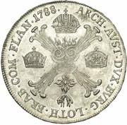 ½ couronne Joseph II  (Type II) – revers
