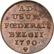 1 liard (Etats Belgiques Unis) – revers