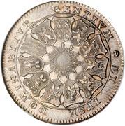 1 lion d'argent (Etats Belgiques Unis) – revers