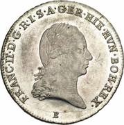 ¼ couronne François II – avers