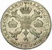 1 couronne Joseph II (Type I) – revers