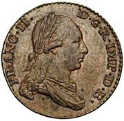 2 liards François II – avers
