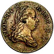1 liard Léopold II – avers
