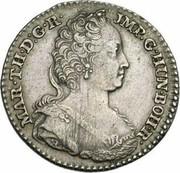 ¼ de ducaton Marie-Thérèse – avers