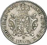 ¼ de ducaton Marie-Thérèse – revers