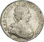 ½ ducaton Marie-Thérèse – avers