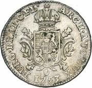 ½ ducaton Marie-Thérèse – revers