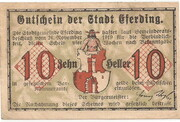 10 Heller (Eferding) – avers