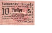 10 Heller (Innsbruck) – avers